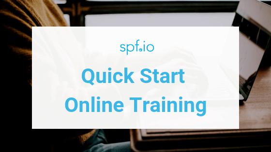 Quick Start – spf.io Basic Training